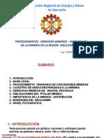 DERECHOS MINEROS DREM - AYACUCHO