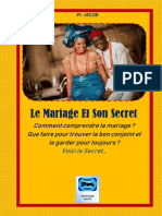Le Mariage, Trouvé Le Conjoint Convenable et le Garder Pour Toujours (1)