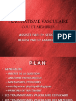 TRAUMATISME VASCULAIRE