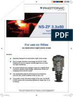 NS-ZF 3.3x80 Night Vision Stand-alone System