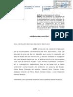 04 (13). Casación 000819-2016 Contaminación del Medio Ambiente. Art. 304