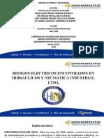 ACTIVIDAD SEMANA N° 4 DIAPOSITIVAS RIESGOS ELECTRICOS