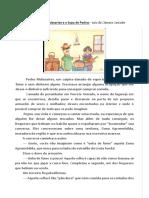 CONTO Pedro Malasartes e a Sopa de Pedras - Luís da Câmara Cascudo
