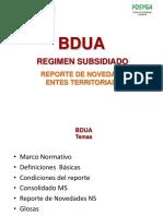 Presentacion Reporte de Novedades Entes Territoriales