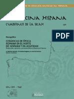 Alcorta, E.J., Bartolomé, R. e Folgueira, A. - Producciones cerámicas engobadas lucenses y su distribución