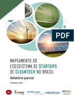 Mapeamento do Ecossistema de Startups de Cleantech no Brasil