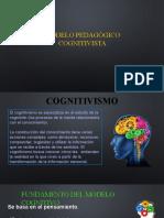 DIDACTICA GENERAL - MODELO PEDAGÓGICO COGNITIVISTA