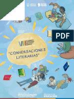 Conversaciones literarias con estudiantes