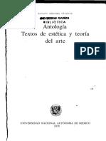 TEXTOS DE ESTETICA Y ARTE pdf