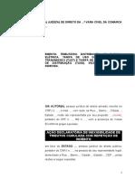 1.4 - INICIAL COM TUTELA - JUSTIÇA COMUM - PESSOA JURIDICA.doc