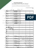 Una broma musical sobre el kv 31b para Orquesta Clásica (2006)