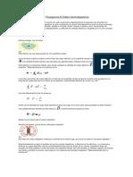 Ecuaciones de Maxwell y Propagacion de Ondas electromagneticas