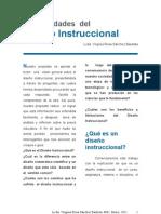 Generalidades del Diseño Instruccional - Lic. Virginia Sánchez Bautista