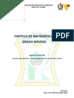 CARTILLA 2P MATEMATICA 9°1.pdf