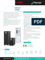 FICHA TÉCNICA UPS-EAST-SERIE G4-MODELO 6KVAS _ 10KVAS