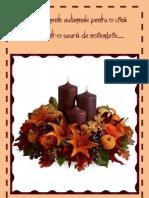 Aranjamente Autumnale Pentru o Cina Romantica