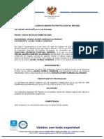 medida de protección definita 069- 2020