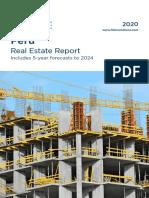 Artículo Reporte de cifras inmobiliarias en Perú