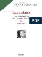 Moustapha Safouan - 2005. Lacaniana 2 - fr