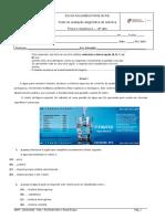 Teste diagnóstico 10ºAno FQA 2019_ 2020
