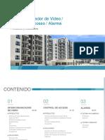 Catalog_Video Intercom_Access Control_Alarm_building_201909(56P)_ES(LA)_High