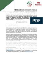 Inic Morena Sen Monreal Transparencia Contratacion Publicidad