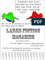 Larks Media PSA Advertisments