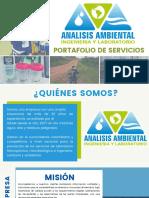 PORTAFOLIO ANALISIS AMBIENTAL