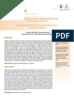 CARACTERÍSTICAS DA HEMOCROMATOSE