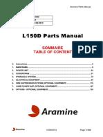 L150D 281 Aramine Parts Manual 20120910