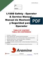 L150D 281 Safe & Oper & Ser Manual - En-Es - 20130917
