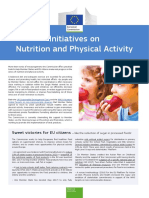 Initiatives on Nutrition and Physical Activity