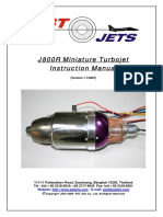 JR800 Miniature Turbojet