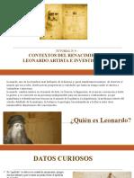Leonardo Davinci - presentación 1.