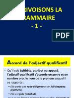 Grammaire JPF Leçons 1-122