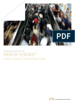LIST OF JOURNALS IN SOCIAL SCIENCE