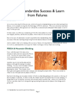 Standardize Success Learn From Failures