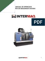CENTRO DE MAQUINADO DOOSAN
