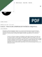 CAULE _ UNA FLOR LUMINOSA BY PATRICIA URQUIOLA – DXI magazine