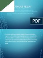ENFOQUE MIXTO(metodologia)