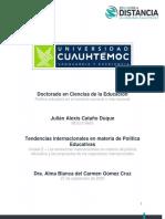 Política Educativa, Tendencias_Cataño_Julián