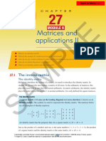 ch27 Matrices and Applications