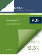 CA CalPERS 2010 Comprehensive Annual Financial Report.