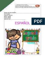 grado 2do tercer periodo español