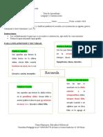 Guia de Aprendizaje NEEP. 7°B. Reglas de Acentuación.