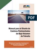 38744820 Manual de Diseno de Caminos Pavimentados