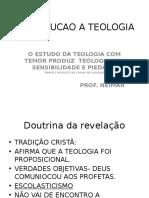 INTRODUCAO A TEOLOGIA - Aula on-line
