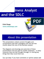 The Business Analyst and the Sdlc