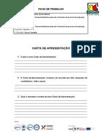 4BV - UFCD 8598 - Carta de Apresentação