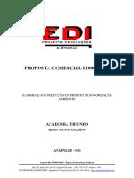 PROPOSTA COMERCIAL P1066C20 - PROJETO DE SONORIZAÇÃO AMBIENTE - ACADEMIA TRIUNFO